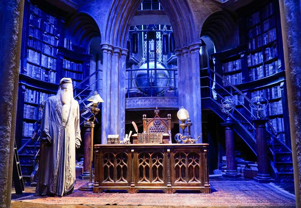 Dumbledores office - Harry Potter London Studio