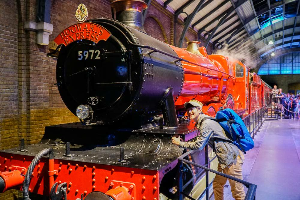 Hogwarts Express - Harry Potter London Studio