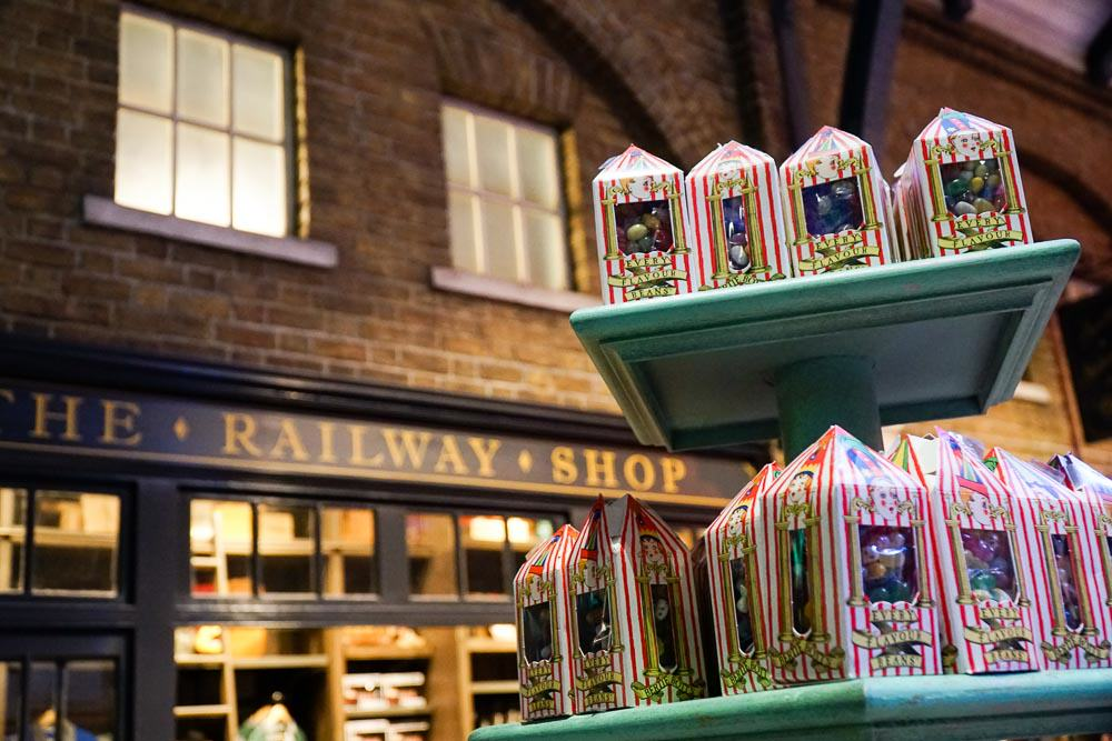 Railway Shop - Harry Potter London Studio