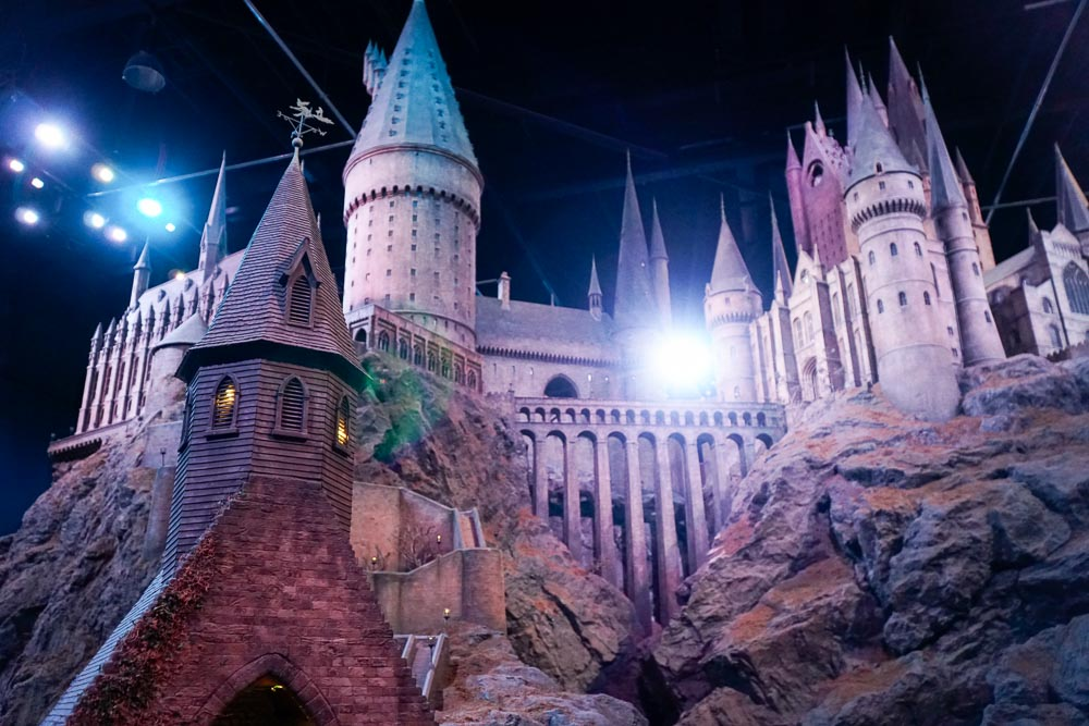 Hogwarts Castle Model - Harry Potter London Studio