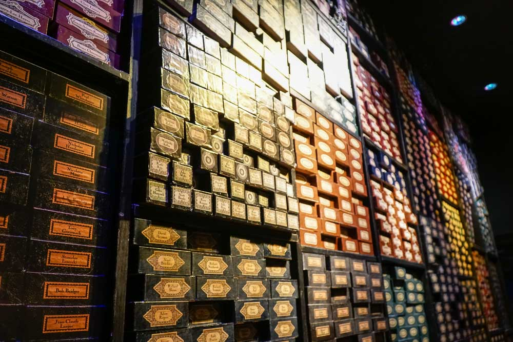 Wand shop - Harry Potter London Studio-