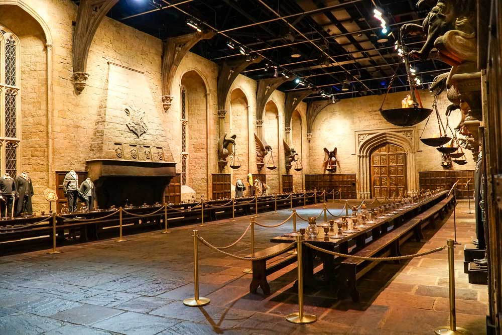 Hogwarts Great Hall - Harry Potter London Studio