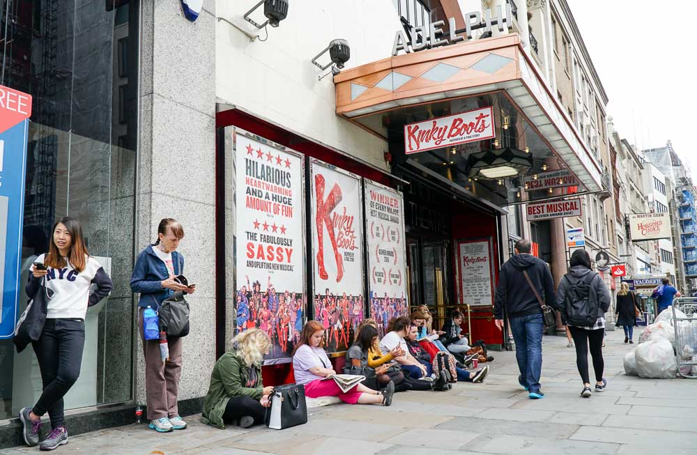 Kinky Boots Theatre - London Budget Guide
