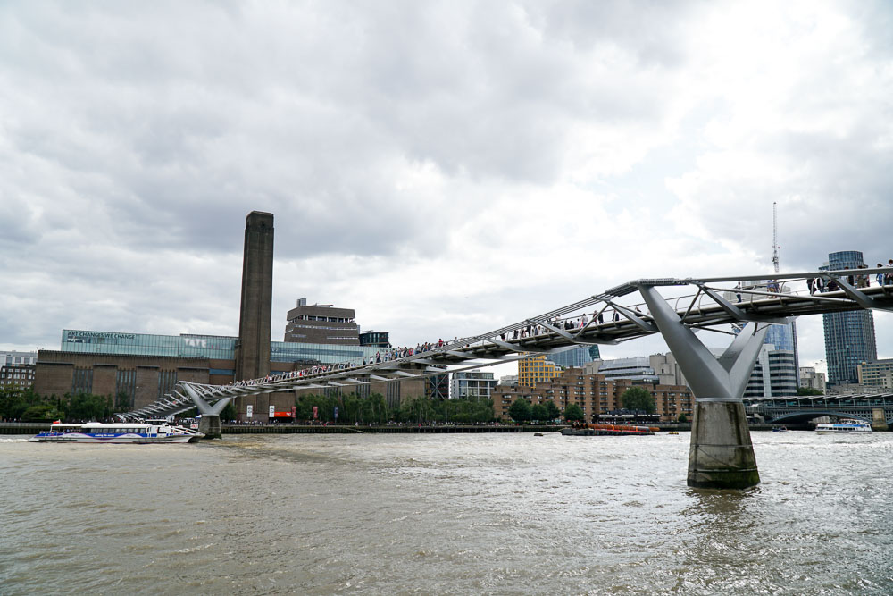 Millennium Bridge - London Budget Guide