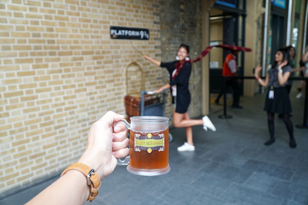 Platform nine three quarters butter beer - London