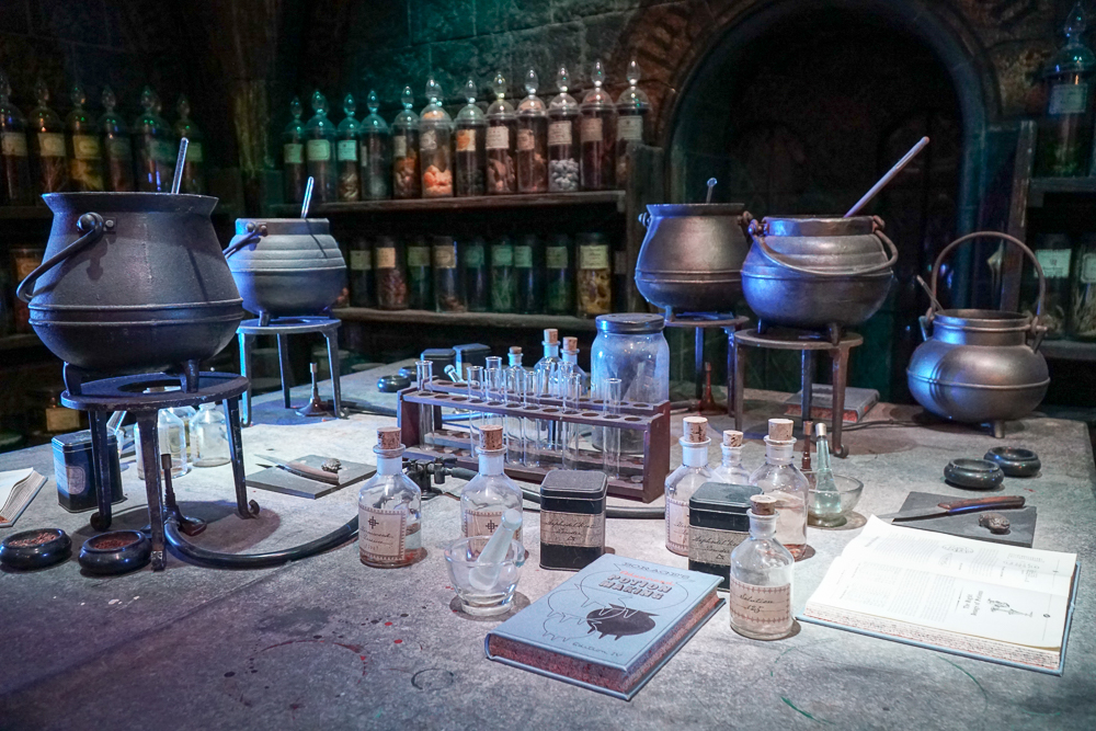 Potions Classroom Harry Potter Studio - London