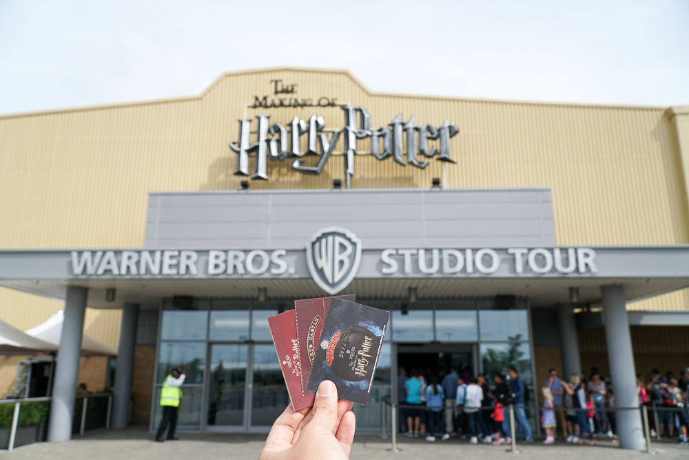 Warner Bros Harry Potter Studio Entrance - London