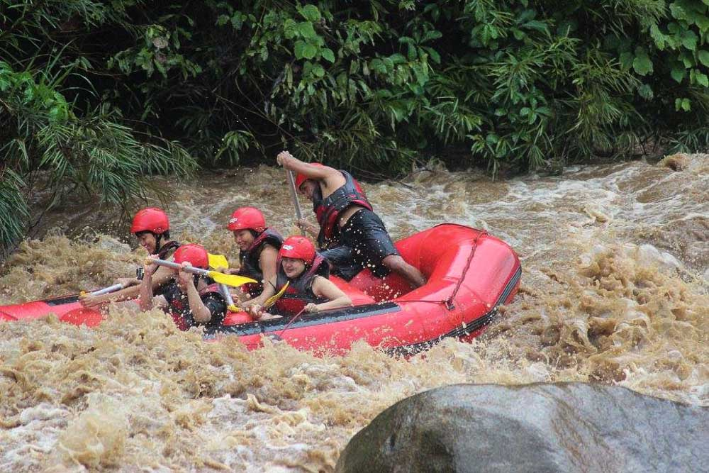 White water rafting - Adventures in Chiang Mai