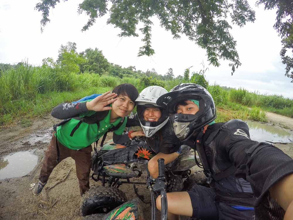 ATV - adventures in Chiang Mai