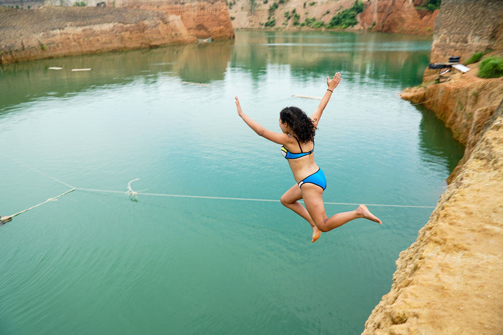 Cliff Jumping at Grand Canyon Chiang Mai Chiang Mai Guide