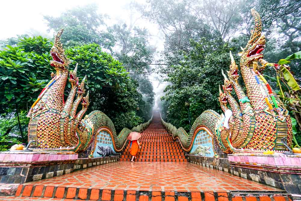 Doi Suthep Temple - Chiang Mai Guide