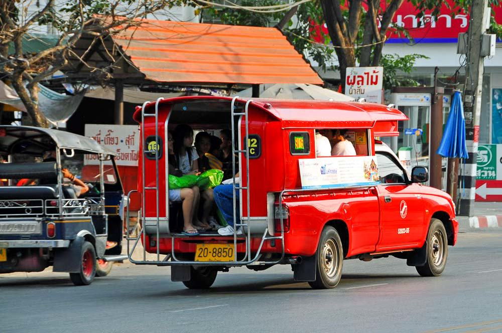 Song Taew - Chiang Mai Guide