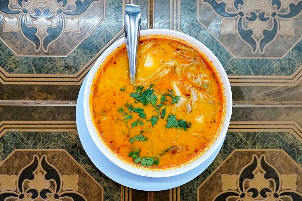 Tom Yum Goong from Khao Tom Restaurant - Chiang Mai Guide