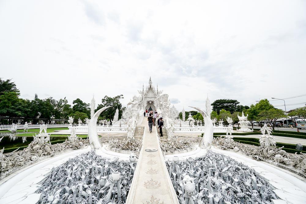 Wat Rong Khun White Temple - Chiang Mai Guide