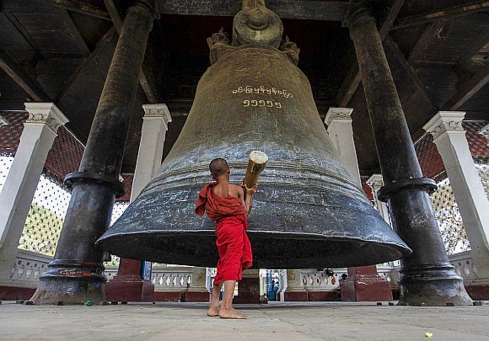 Mingun Bell - myanmar-itinerary