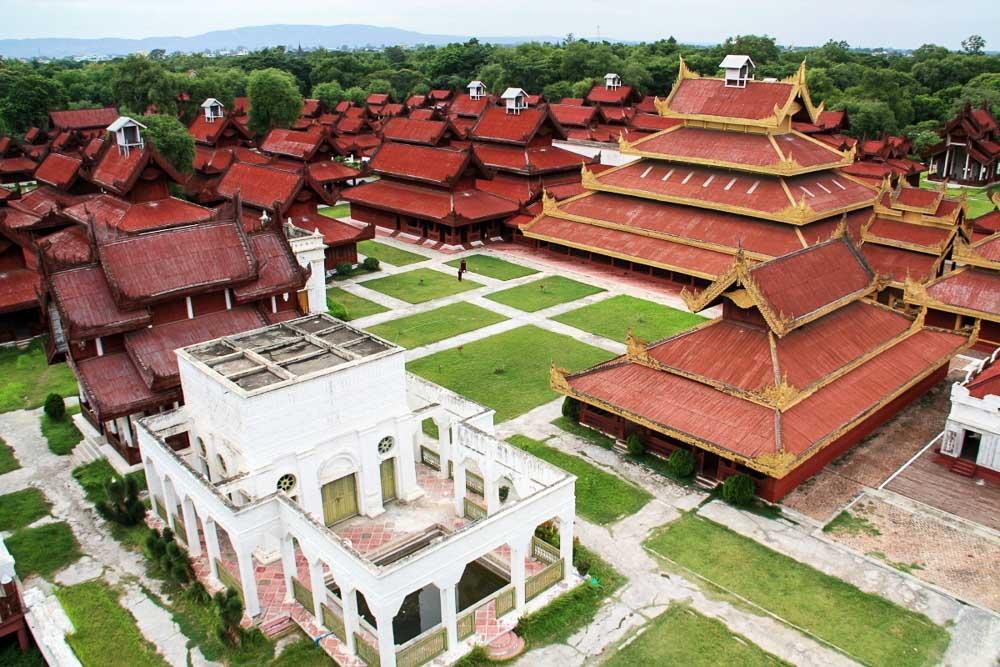 Mandalay Palace - myanmar-itinerary