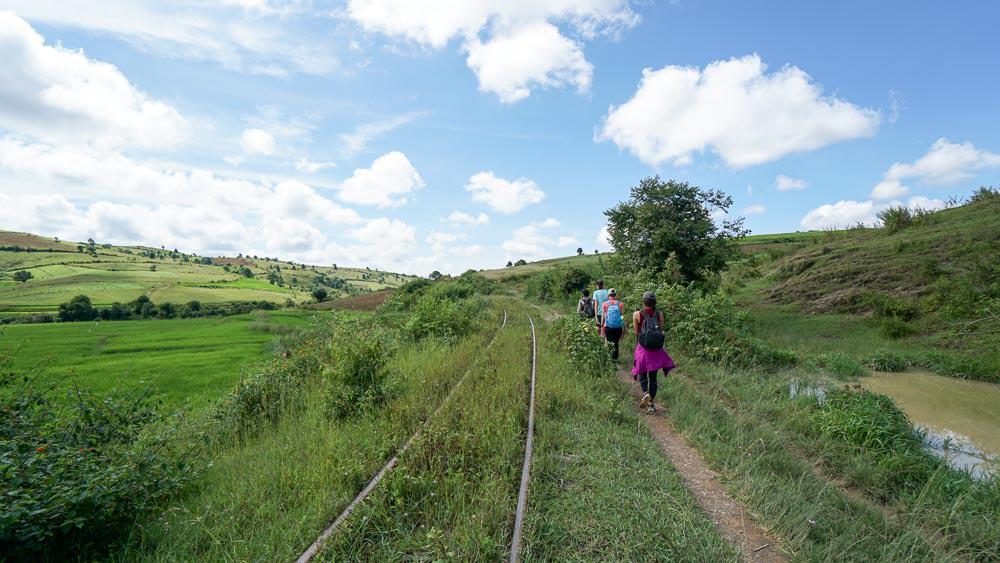 Trekking in Kalaw - myanmar-itinerary