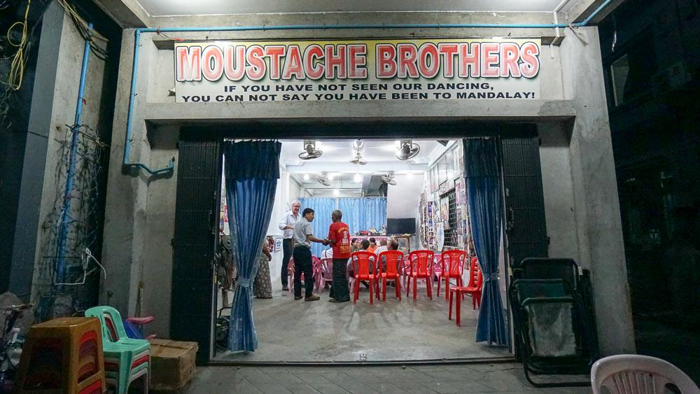 Moustache brothers in mandalay - myanmar-itinerary