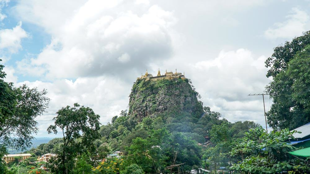 Mt Popa - myanmar-itinerary
