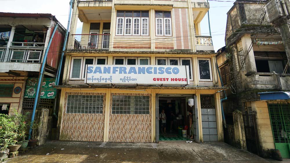 San Francisco Guesthouse Bago - myanmar-itinerary-9