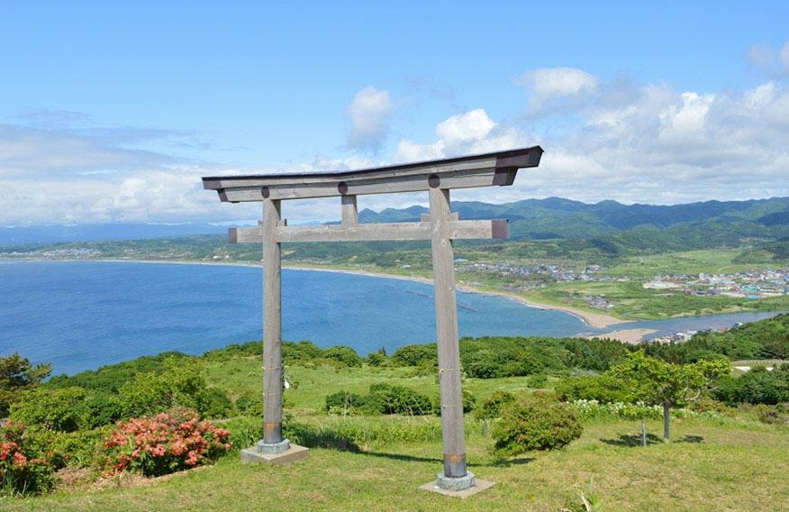 Hokkaido - Kaminokuni Town Torii Gate