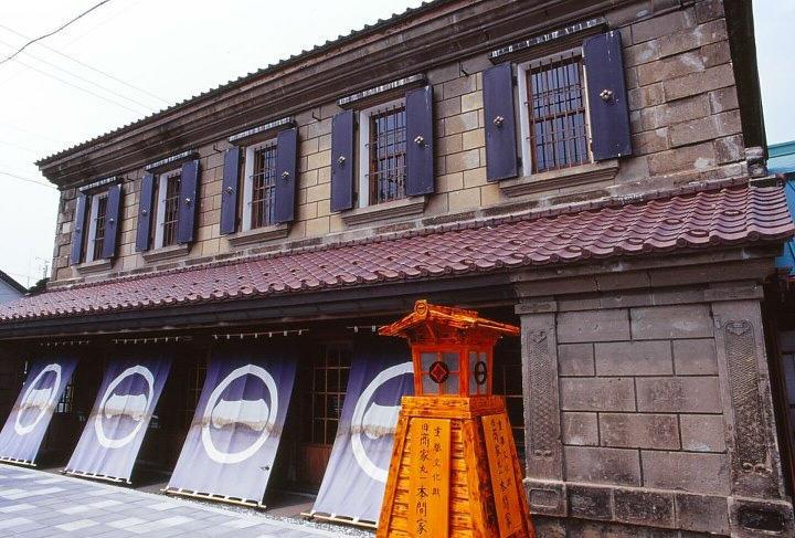 Hokkaido - Mashike Town old buildings