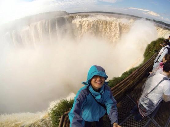 Iguazu Falls Selfie